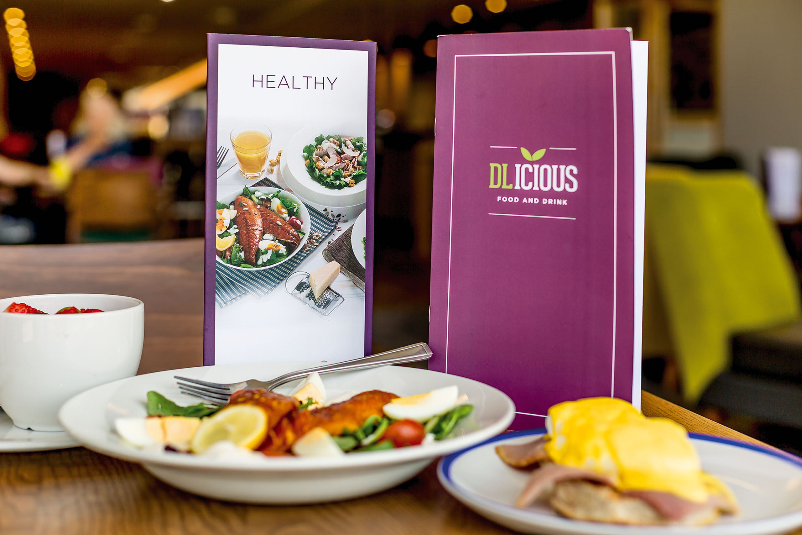David Lloyd New Food Menu